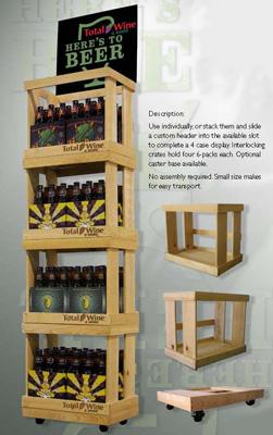 mdf aluminum printed styrene beer merchandiser. Resume Example. Resume CV Cover Letter